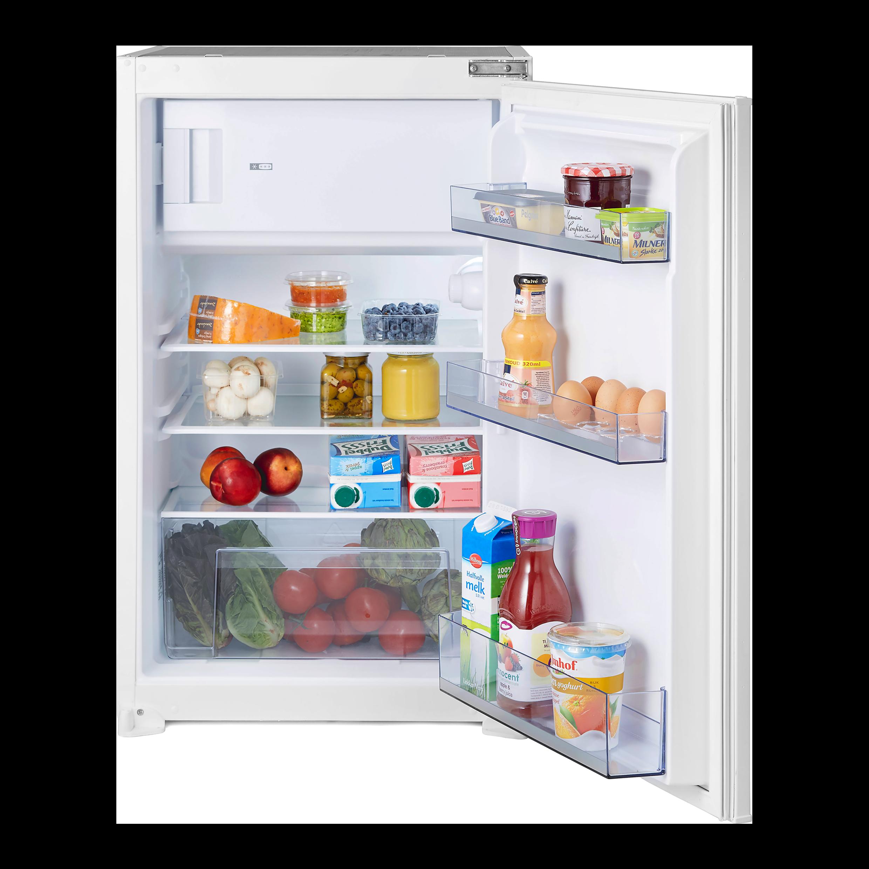 Réfrigérateur avec compartiment congélation, niche 88 cm