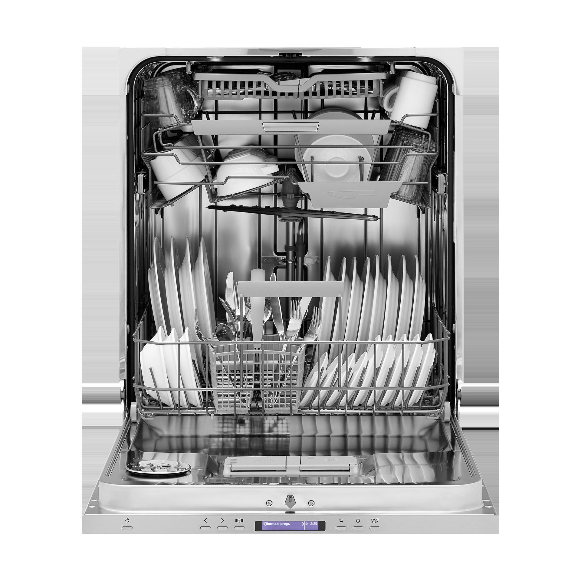 Lave-vaisselle XL, 86 cm de haut, tiroir à couverts supplémentaire